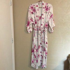Vintage long robe size L